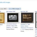 digital arhive search results screenshot