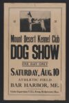 poster for dog show